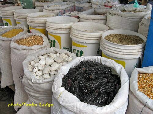 Cuscoの市場にて