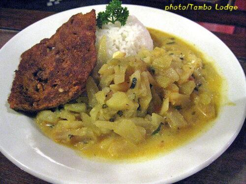 クスコのインド系ベジタリアン・レストラン「Govinda」