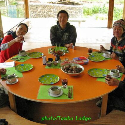 「聖なる谷(Sacred valley)」でのお昼ご飯