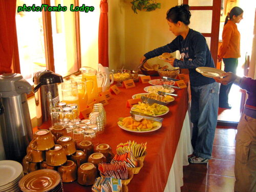 リゾート気分の「Hotel Ollantaytambo Lodge」に泊まる