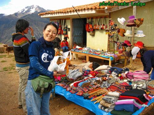 インカの塩とアンデスの春の風景