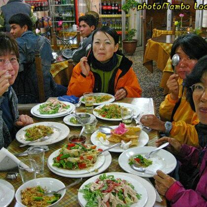 「Andahuaylas(アンダワイラス)」で中華