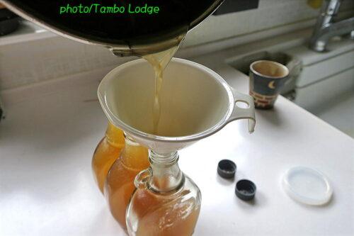 タンボ・ロッジ式米飴の作り方(2)