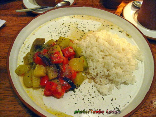 クスコのベジタリアン・レストラン「Granja Heidi」(2)
