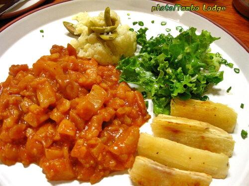 クスコのベジタリアン・レストラン「Granja Heidi」(3)
