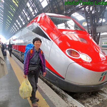 ミラノからローマへ、朝倉ツアーにやっと合流