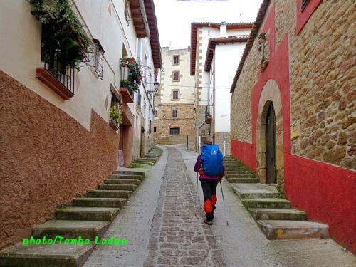 巡礼5日目(Puente de Reina ⇒ Estella)23㎞ 中世のような路