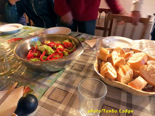 Grañonでの再会と夕食