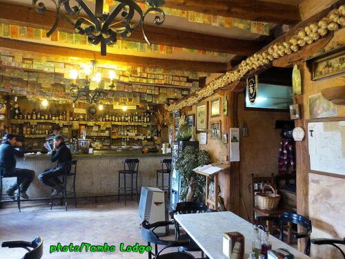 CastrojerizのBARでお昼ご飯