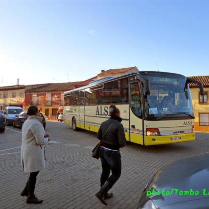 巡礼23日目(Mansilla de las mulas ⇒ León)18.6㎞ バスでの移動