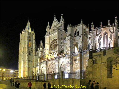 Leónの夜景