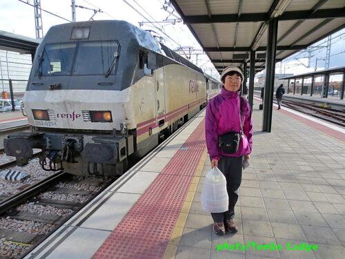 巡礼27日目(León ⇒ Santiago de compostela)約300㎞ 鉄道の旅
