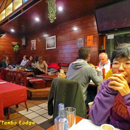 Santiago de compostelaのべジ・レストラン「Elefante」