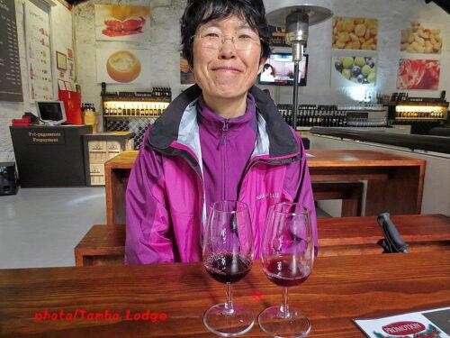 ポートワインのテイスティング