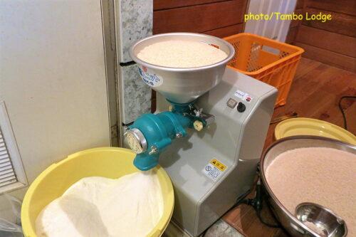 米粉の自家製粉
