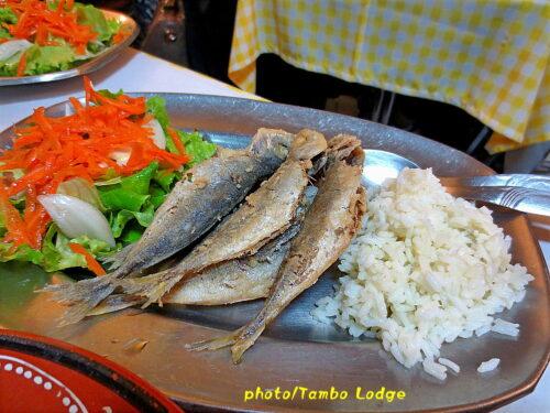 Coimbraの郷土料理レストランでのランチ