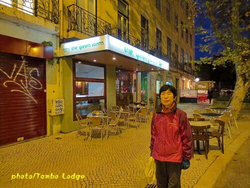 Lisboaのべジ・レストラン「The green room」