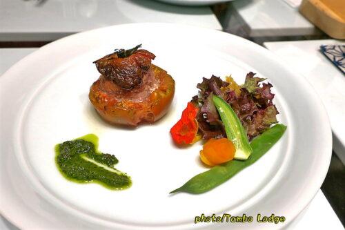 クオーレ・デルソルでディナーコースを食べる