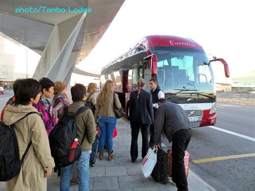 振り替え輸送でサンセバスティアンへ