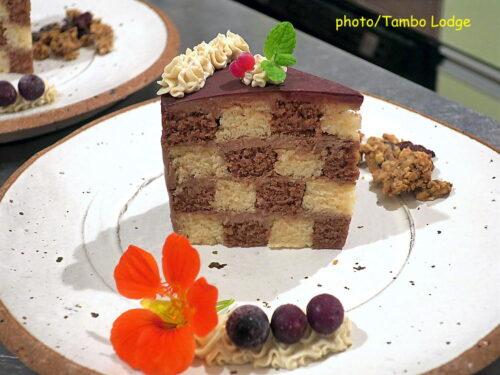 米粉のサンセバスチャン(チェッカーズケーキ)