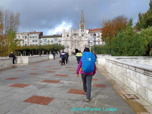 巡礼の道を歩くために、BURGOSへ移動