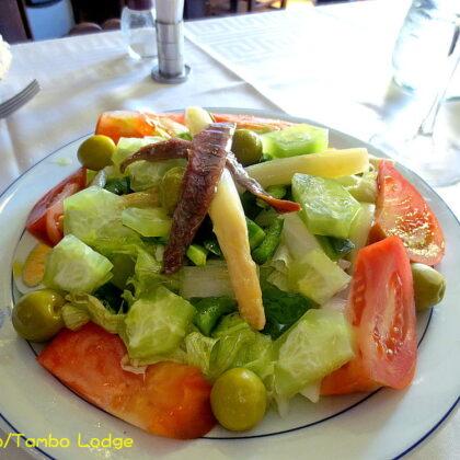 ブルゴスのレストラン「La Cueva」