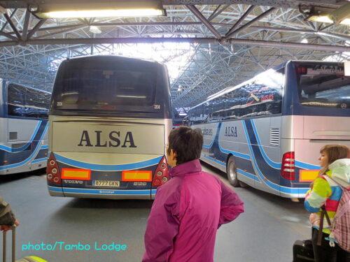 巡礼1日目(Burgos ⇒ León)180㎞ バスで移動