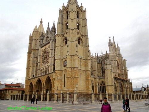 レオン大聖堂(Catedral de León)の美しいステンドグラス