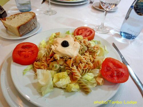Astorga(アストルガ)でランチを食べる