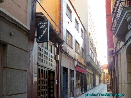 Astorgaのチョコレート博物館見学