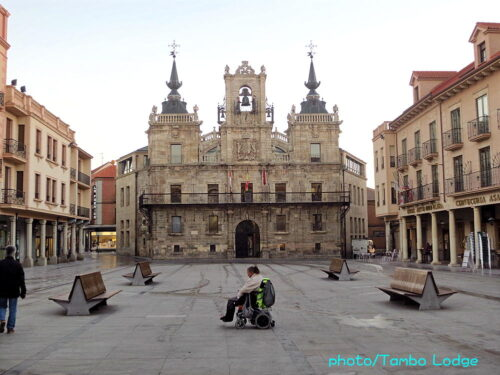 Astorga散策と自炊の夕食