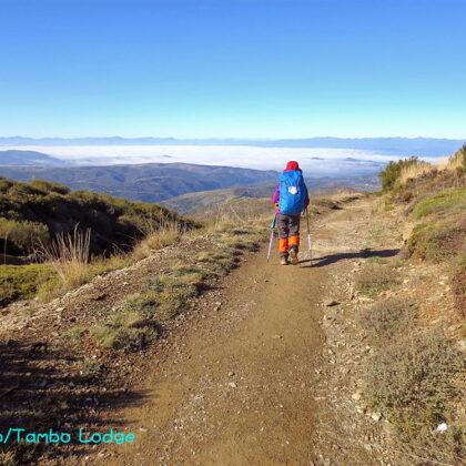 巡礼6日目(Rabanal de camino ⇒ El Acebo)17㎞ イラゴ峠を越える