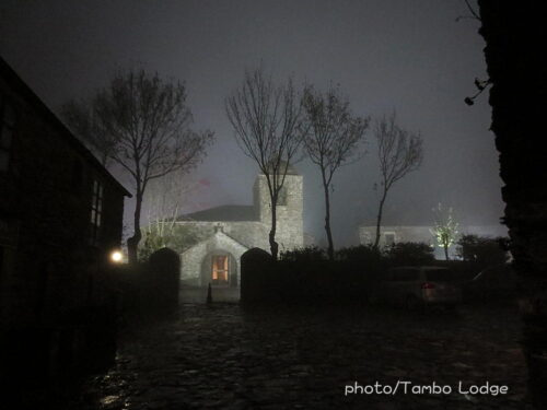 セブレイロ峠の夜の嵐