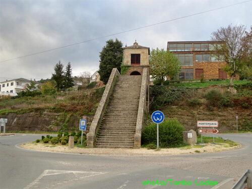 Portomarínに到着