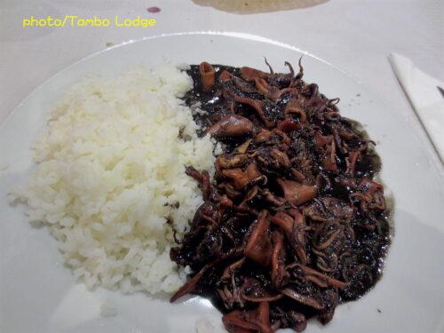 Palas de Reiでの夕食