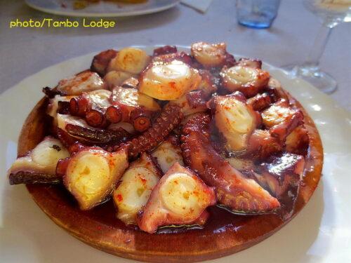 Arzúaの郷土料理とまたもや「タコ」を