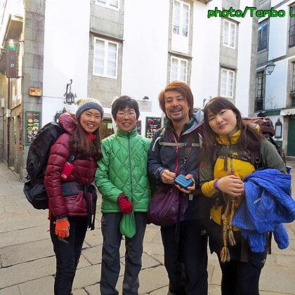 巡礼19日目 聖地Santiago de Compostela滞在(1)再会