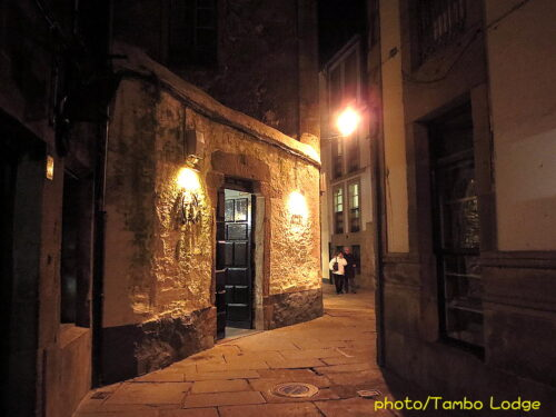 Santiago de Compostelaの夜景