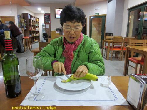 OlveiroaのBARでの夕食