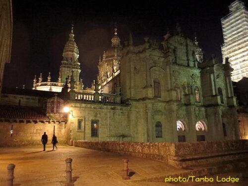 聖地Santiago de Compostela最後の夜