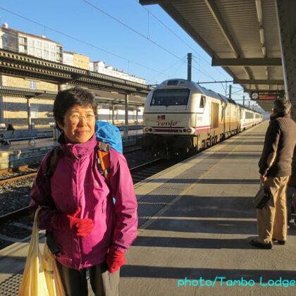 美食の町Bilbaoへ鉄道で戻る