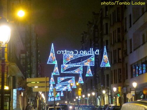 Bilbaoのクリスマス・イルミネーション