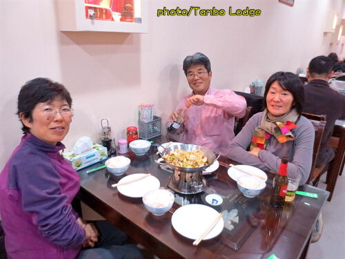 夜は中華へ、久しぶりのアジア系料理