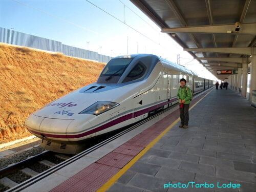 スペインの新幹線と国営ホテル「パラドール」