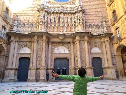Montserratの修道院
