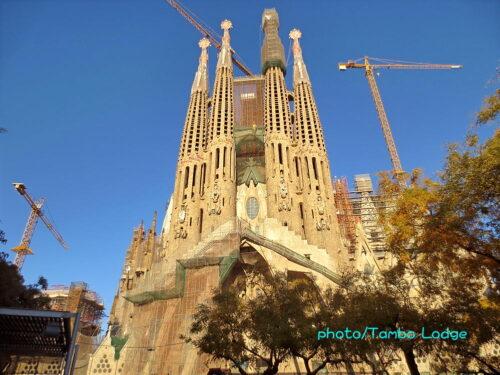 Sagrada Famíliaでのクリスマスコンサート