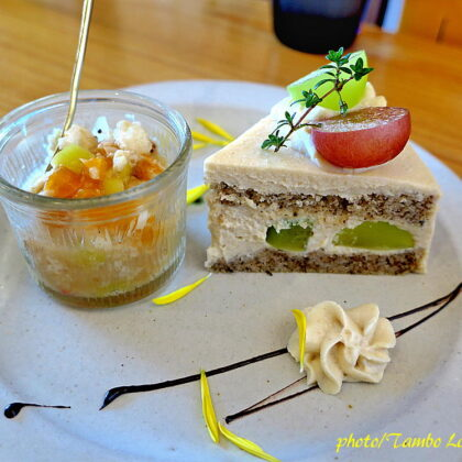 久しぶりに自然食レストラン「Matsu 松」でランチ